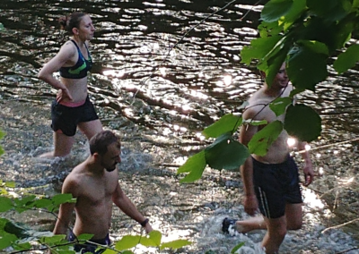 Fractionné rivière - Groupe retour