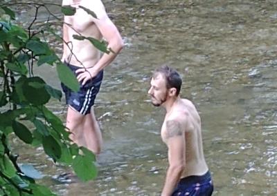 Fractionné rivière - Lucas & Mathieu